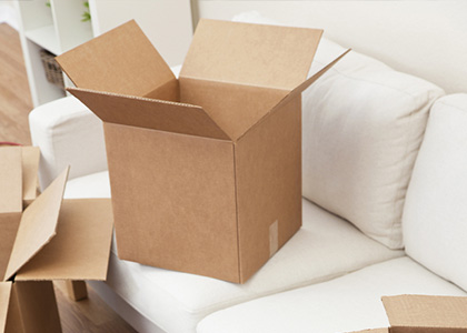 image of moving boxes - Divorce and Property Disputes